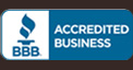 Cabinet Refinishing Center accredited by BBB